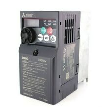 0.75KW 1.0HP MITSUBISHI ELECTRIC D700 SINGLE TO 3PH INVERTER FR-D720S-042SC-EC