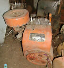 Old Cast Iron Gas Engine One Cylinder