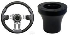 Club Car Precedent Aviator 5 Steering Wheel Kit (Carbon Fiber w/Aluminum Spokes)