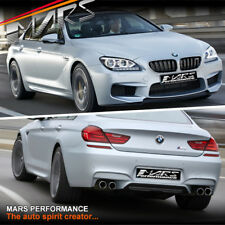 M6 Style Front & Rear Bumper Bar Fender guards Side Skirts for BMW F06 6-Series