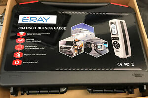 ERAY P1 Paint Coating Thickness Gauge, Digital Mil Thickness Meter w/ Backlight