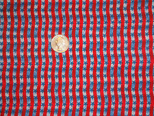 Red Stripes Blue Stars Quilting Cotton Fabric David Textiles BTY by the yard