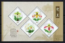 China 2001-18M S/S Souvenir Sheet Flower clean MNH OG