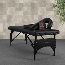 Inner Strength by Earthlite Premium Massage Table Pkg Black
