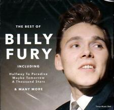 BILLY FURY - THE BEST OF (NEW SEALED CD)