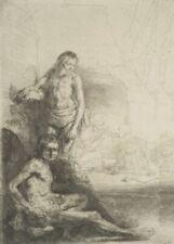 Nude Men, 1646, REMBRANDT, Baroque, Dutch Golden Age Art Poster
