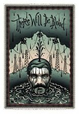 Tara McPherson THERE WILL BE BLOOD Poster SIGNED Ltd Ed Screen Print Moss Horkey