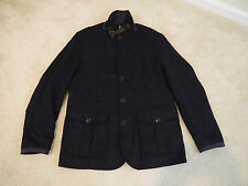 $449 Barbour® Barkston jacket for J.Crew Navy Large Item B0864 NWT!