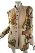 RARE HERMES Wool/Cashmere Long Jacket Henri de LINARES $7500-Spectatuclar-42/10