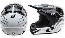 ONE INDUSTRIES ATOME lazr Casque motocross noir/blanc moto enduro neuf