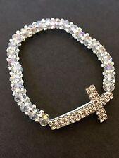 12PC Baptism Party Favors Bracelets Crystal Party Communion Recuerdos Bautizo