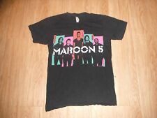Vintage Maroon 5 North American Tour 2013 Concert Black Shirt Adults Small!