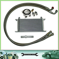 Oil Cooler Kit Complete Set 16 Row + Thermostat VW Golf Corrado Passat VR6 bis97