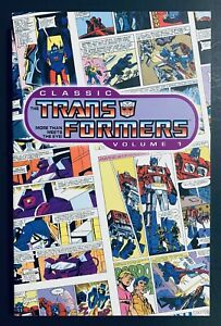 CLASSIC TRANSFORMERS Vol. 1 TPB ULTRA RARE OOP IDW Extremely Low Print Run