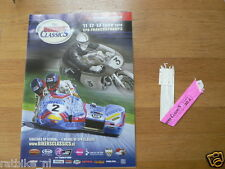 B 2010 THE BIKERS CLASSICS SPA-FRANCORCHAMPS PROGRAMME AND TICKET