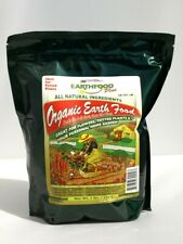 Natural Organic Blood Meal EarthFood Plus 3lb bag Supplement for Flowers Garden