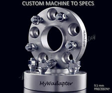 Merit Wheel Spacer Adapters 15 mm 5x100 To 5x120 Hub Centric 2 PCS VW AUDI