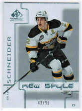 19/20 SP GAME USED CHL HOCKEY 2000-01 NEW STYLE TRIBUTE CARDS NS-XX U-Pick List
