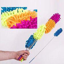 Extensible télescopique de nettoyage en microfibre duster plume style extension ...