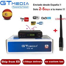 DVB-S2 GTmedia V7S Digital Satellite Receiver FTA 1080P HD TV Decoder+USB WIFI