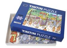 Puzzle Tintin - Éléphant Altesse Puzzle avec poster. MOULINSART 81545. NEUF