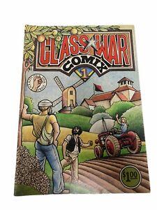 CLASS WAR Comix 1 Clifford Harper Kitchen Sink 1979 UNDERGROUND COMIC