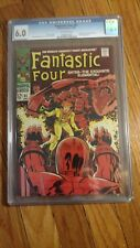 """Fantastic Four #81 CGC 6.0 (1968) """"Enter – the Exquisite Elemental!"""" Jack Kirby"""