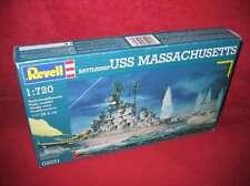 Revell® 05031 1:720 BATTLESHIP USS MASSACHUSETTS NEU OVP