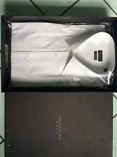 Valentino Roma Herrenhemd, Kentkragen, Gr. 43 weiß Neu!