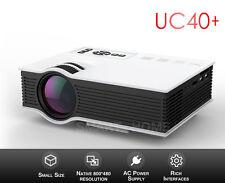 UC40+ Mini HD 1080P 800 Lumens LED Projector Home Cinema PC VGA AV USB SD HDMI