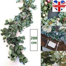 200CM Artificial Eucalyptus Garland Greenery Home Decor Hanging Rattan Wedding