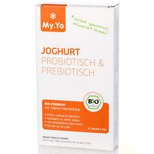 My.Yo Joghurtferment Pro- und Prebiotisch Joghurtherstellung, Joghurt Ferment