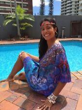 Regular Size Floral POLY Blend Dresses for Women