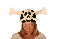 Skull & Crossbones Pirate Novelty Hat