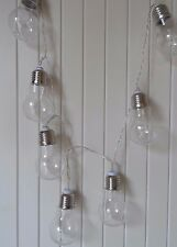Led 10 rétro vintage ampoule fairy light garland string chaîne-batterie