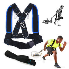 Outdoor Sports Fitness Sled Harness Strength Speed Training Strap Workout Pull R