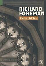 NEW Plays with Films by Richard Foreman