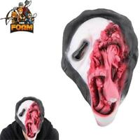 Scream Ghost Face Scary Horror Costume Cosplay Halloween Masquerade Mask .