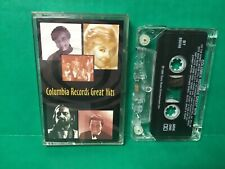 COLUMBIA RECORDS - Greatest Hits - 1995 Cassette Tape (Rare OOP)