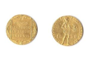 Russia: Nicholas I. Russian Imitation of Netherlands gold Ducat 1830 XF. RARE