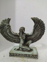 Rare Antique Ancient Egyptian Statue Figurine Isis Goddess of the Moon Bc