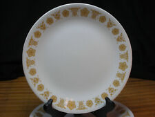 CORELLE CORNING VINTAGE BUTTERFLY GOLD 2 LUNCH PLATES