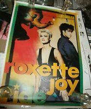 ROXETTE  Promo Vintage Poster 90s JOYRIDE (1991) Marie Fredriksson NO T Shirt