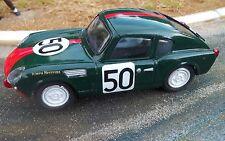 Probuild 1/32 slot car from OCAR kit TRIUMPH SPITFIRE  c1965  LE MANS #50 MB/RTR