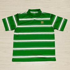 New listing Mens Notre Dame Irish Columbia Omni-Shade Golf Polo Shirt Size Medium Green