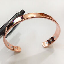 New Fashion Man Woman Rose Pure Copper Magnetic Therapy Bracelet For Arthritis