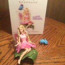 Hallmark Barbie Fairytopia Keepsake Ornament--2006 ( Elina & Puffball)