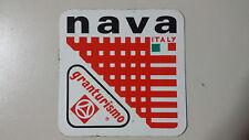 Adesivo Sticker NAVA  Italy GRANTURISMO  cm 6,5 x 6,5 circa