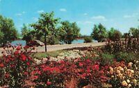 Postcard Garden and Sloan's Lake Cheyenne Wyoming