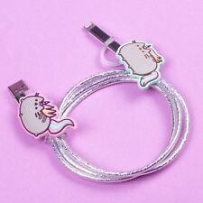 Pusheen Unicorn USB Charging Cable Micro USB Lightning Android iPhone